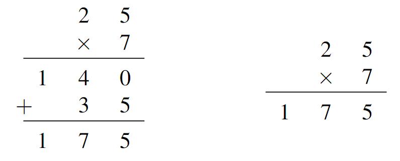Los Algoritmos 2 La Multiplicación Y La División Más